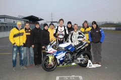 Maco Racing Team Test Slovakia Ring