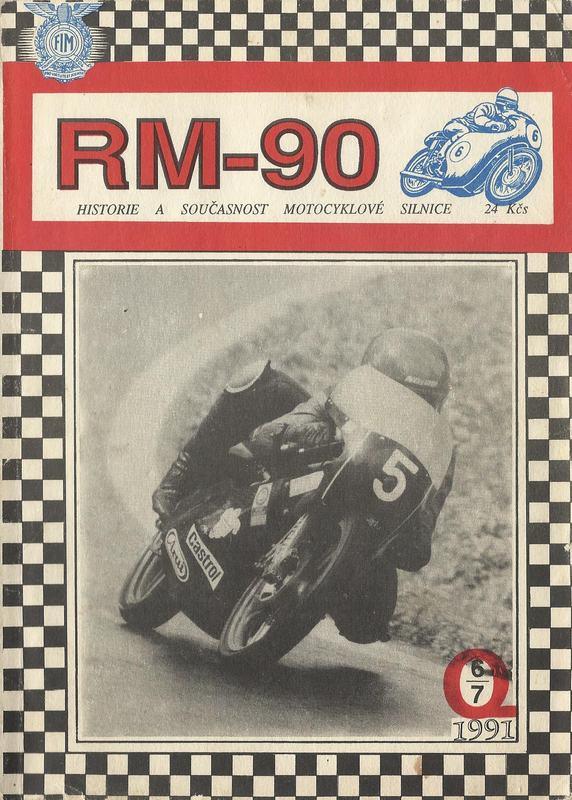 Jedno z prvých čísel časopisu Retro Moto 90 z roku 1991. K neuvereniu je, že na snímke je Petr Zářecký, áno presne ten, ktorý tento rok v septembri zvíťazil na Slovakia Ringu...