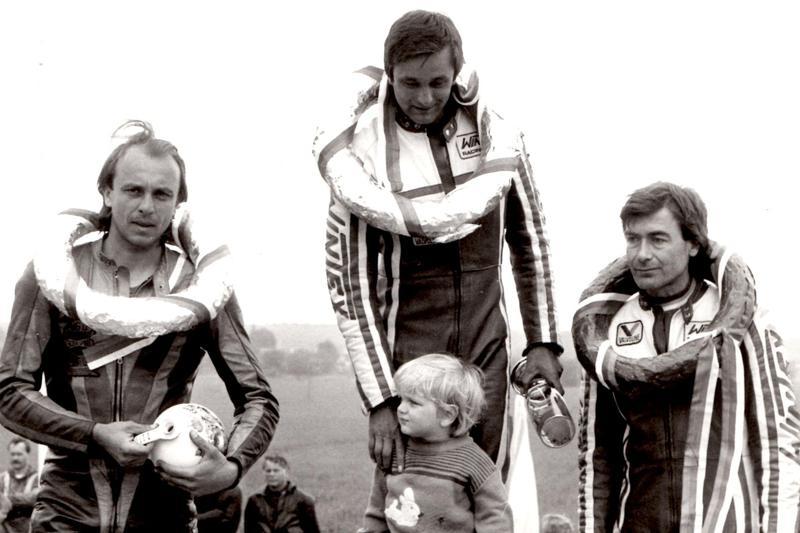 So synom Erikom po víťazstve v Kněžpoli v roku 1988