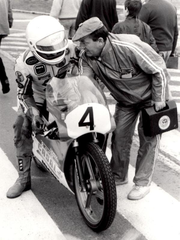 S mechanikom Mirom Wernerom (1990)