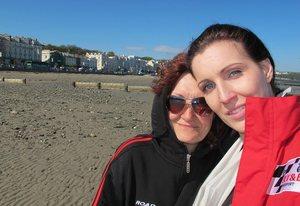 S mamou Věrkou na posvätnom území - Isle of Man