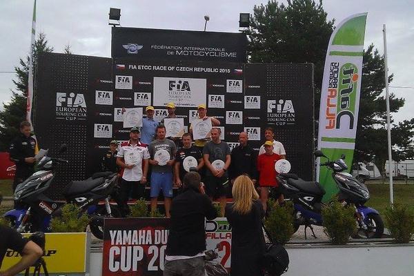 Murgaš druhý v českom Yamaha Dunlop Cupe