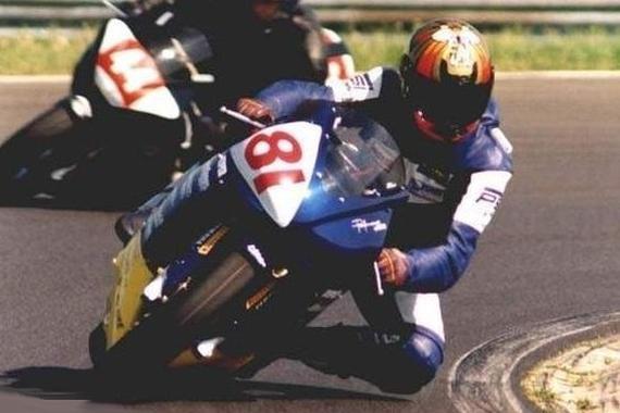 Takmer celá kariéra Martina Kuzmu je spojená s motocyklami Yamaha R1