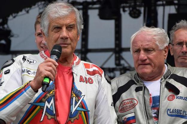 Giacomo Agostini navštívi preteky v Holíči!