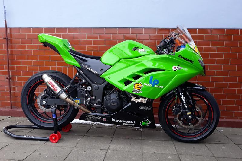 Prodám Kawasaki 300 Ninja