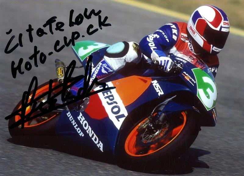 Pozdrav čitateľom portálu Moto-cup.sk: Carlos Cardus