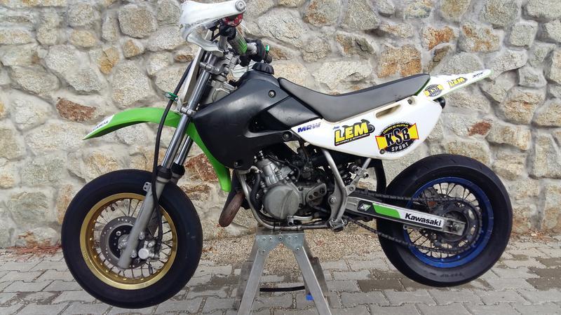 Predám Kawasaki KX65 Motard