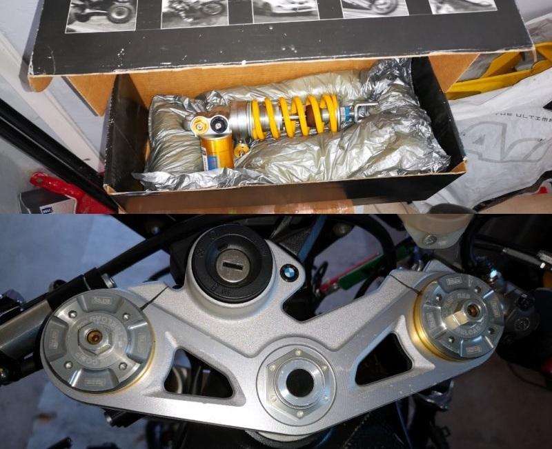Predám racing podvozok Ohlins na BMW S1000RR