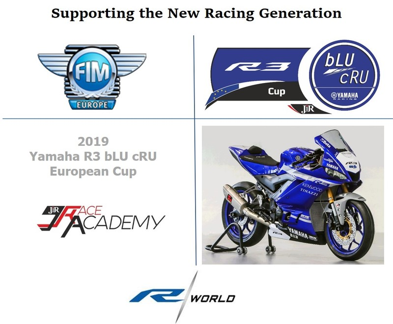 Yamaha R3 bLU cRU European Cup