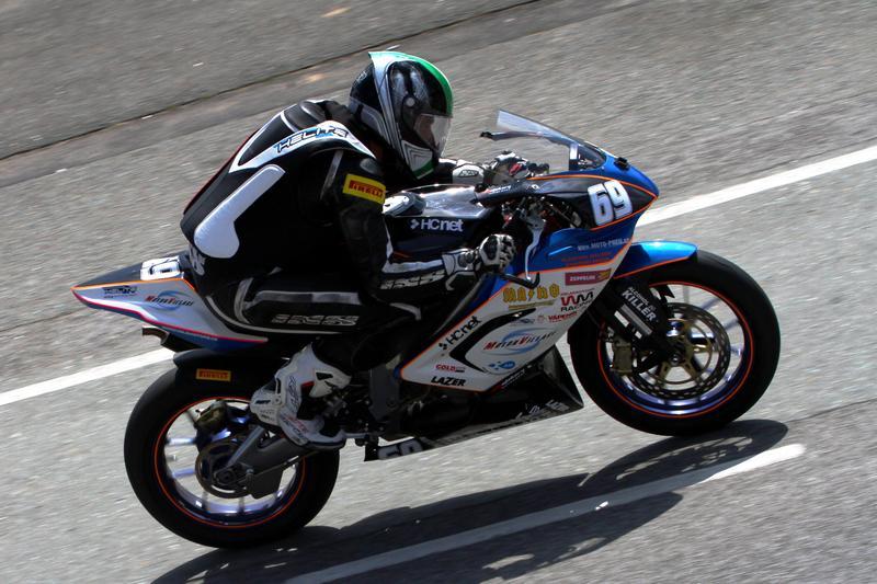 Pierre Coppa v domácím závodě 300 zatáček Gustava Havla