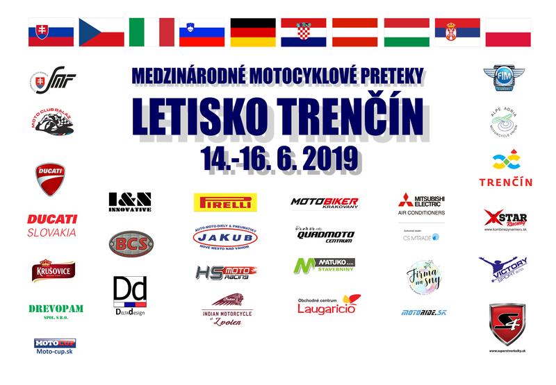 Poďakovanie organizátorom pretekov v Trenčíne