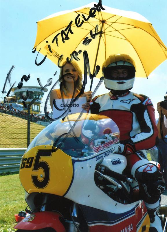 Pozdrav čitateľom portálu Moto-cup.sk: Johnny Cecotto