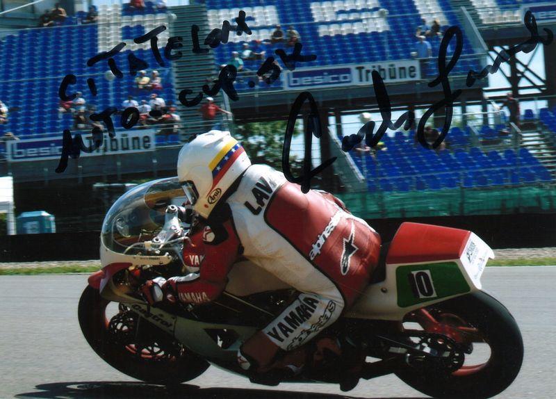 Pozdrav čitateľom portálu Moto-cup.sk: Carlos Lavado