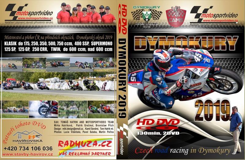 2DVD Dymokury 2019 od Motosportvidea