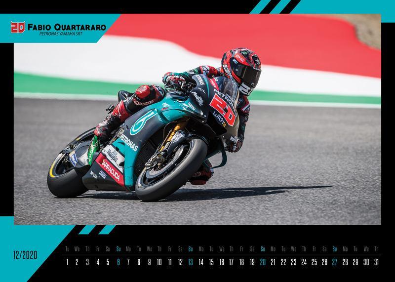 Nástenný kalendár MotoGP 2020 od Petra Ružu