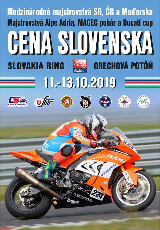 Motocyklová Cena Slovenska 2019 sa blíži