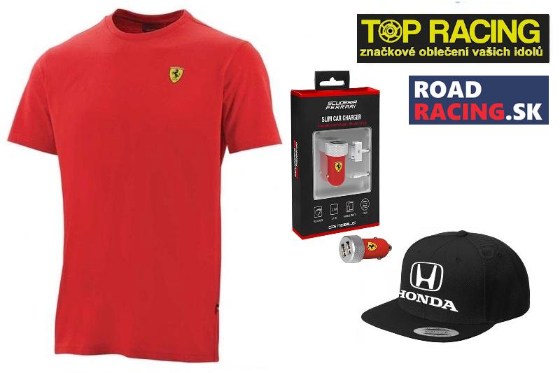 Súťaž: Vyhraj zaujímavé ceny z F1 od spoločnosti TOP RACING!