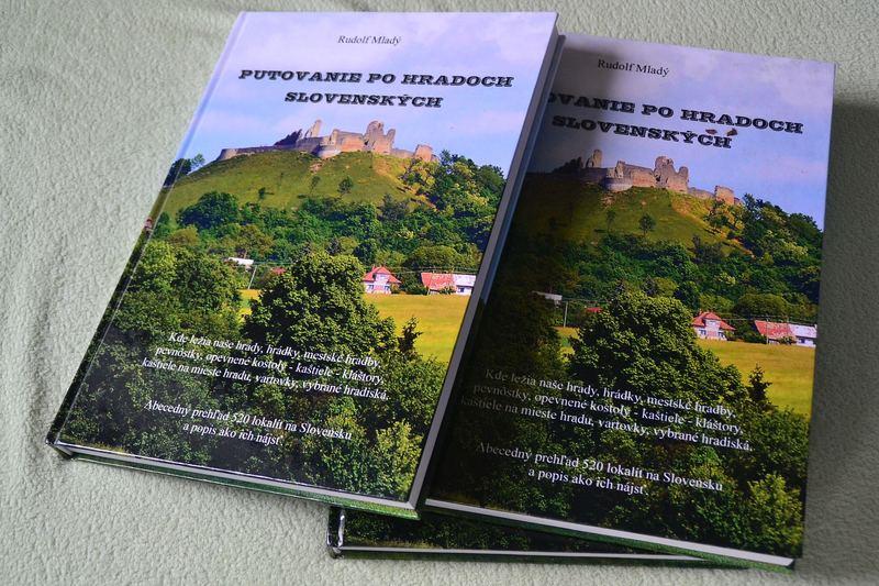 Nová kniha od Ruda Mladého, tentoraz nemotocyklová: Putovanie po hradoch slovenských