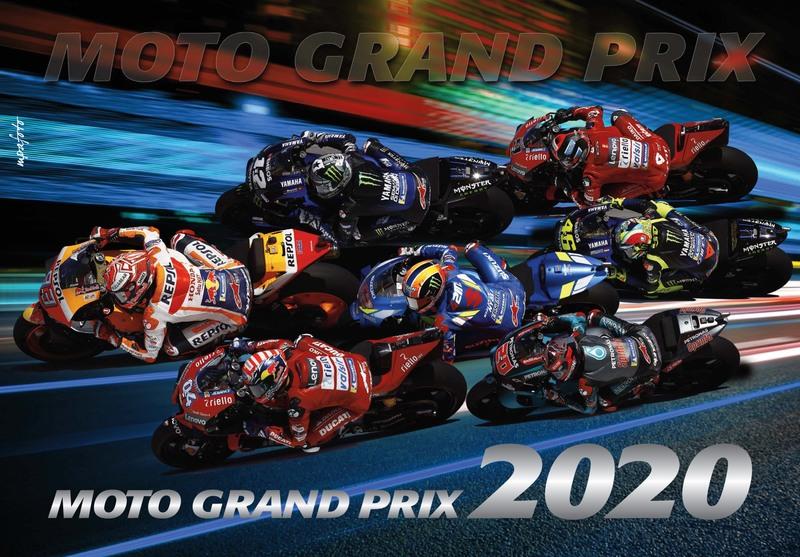 Nástenný kalendár MotoGP 2020