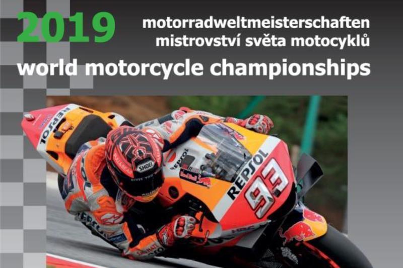 Nová kniha: Mistrovství světa motocyklů 2019