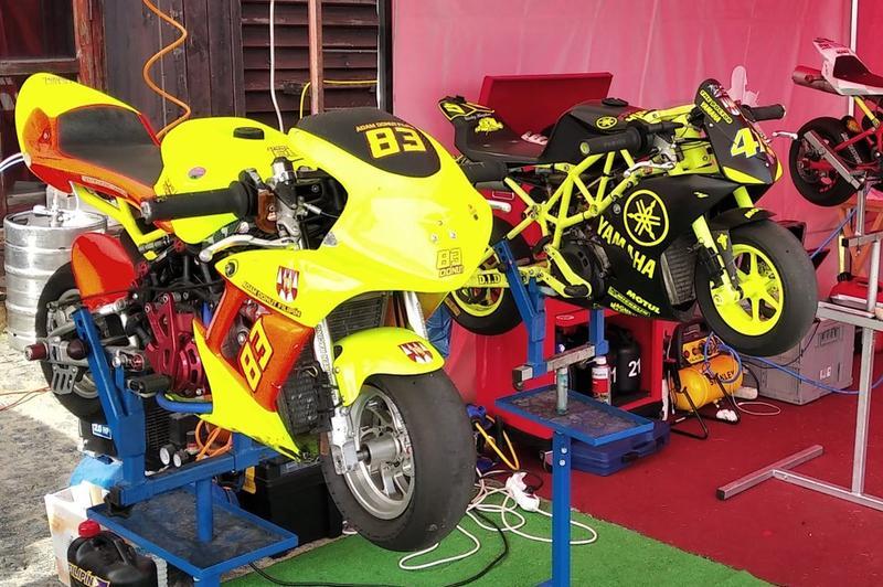 Prodám minibike DM CS racing 2T 40 a Blata Ultima 2T 40