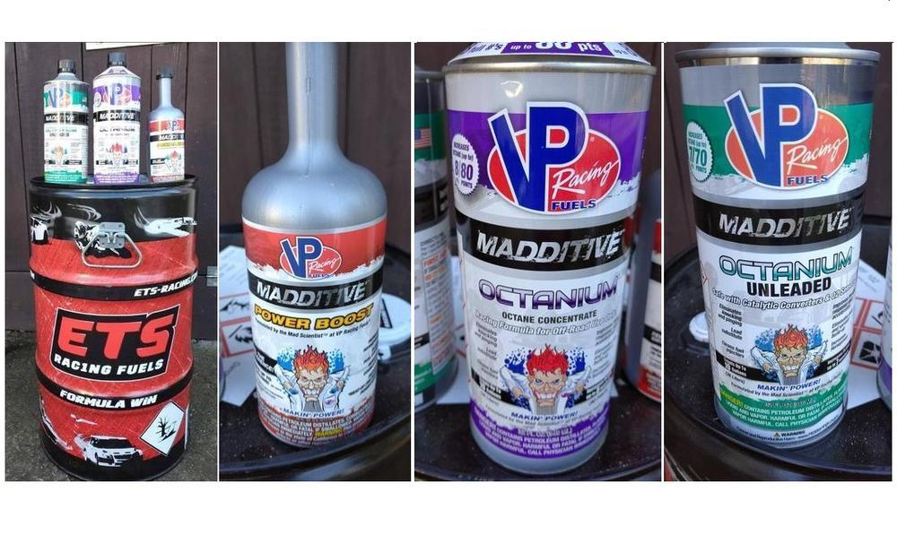 Nabízím racingový benzin ETS a aditiva VP