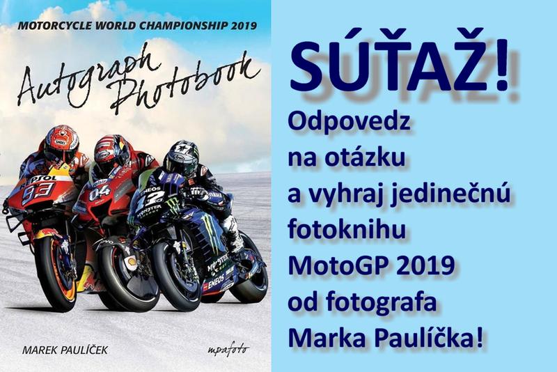Súťaž! Vyhraj fotoknihu MotoGP 2019!