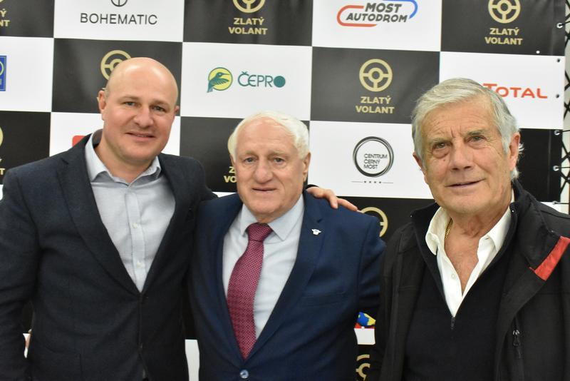 Hostem galavečera Zlatého volantu byl i Giacomo Agostini