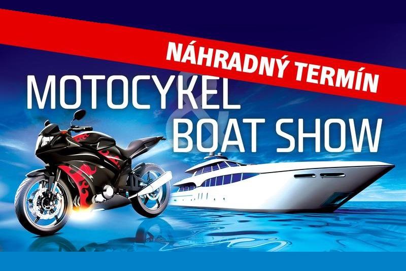 Výstavy Motocykel a Boat Show sa presúvajú na náhradný termín