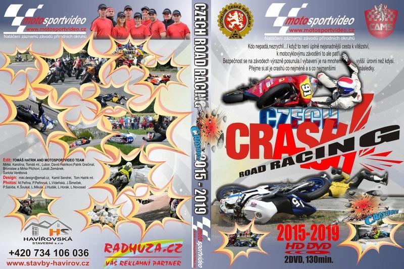 2DVD Crash Czech Road Racing 2015 – 2019