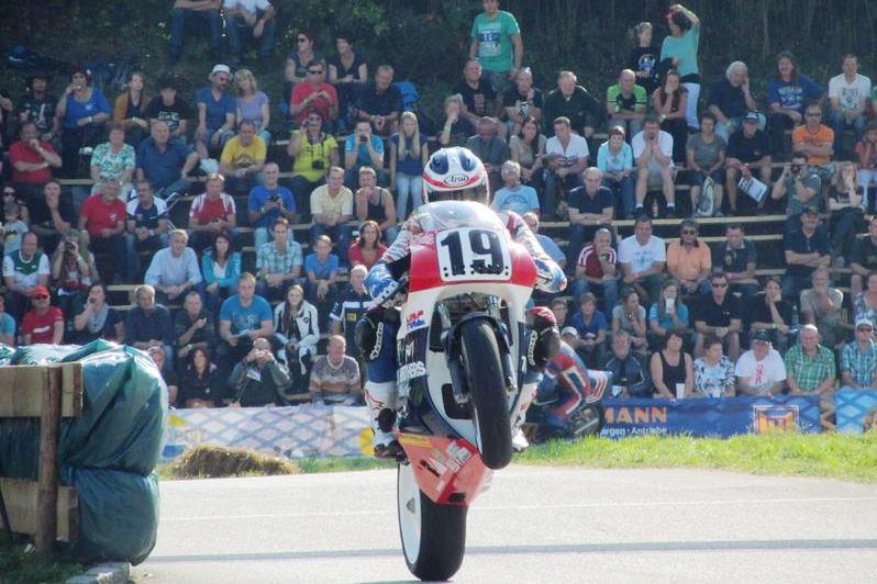 Oldtimer GP Schwanenstadt je miestom stretnutí motocyklových legiend