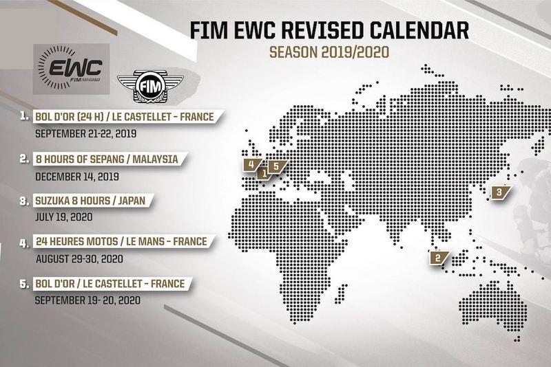 FIM EWC: Oschersleben zrušený, 24-hodinovka Bol d´Or uzavrie sezónu 2019/2020