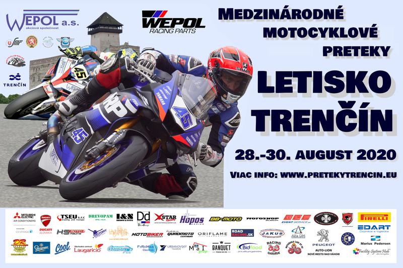 Cez víkend sa na letisku v Trenčíne konajú medzinárodné motocyklové preteky