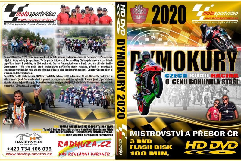 Nové 3DVD/Flash disk Dymokury 2020