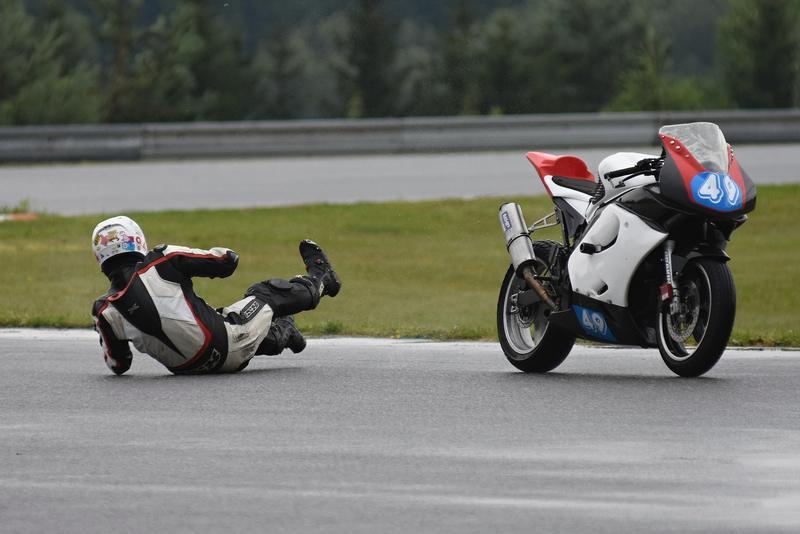 Dobehni svoj motocykel…