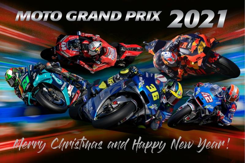 Kalendáre 2021 a fotokniha MotoGP