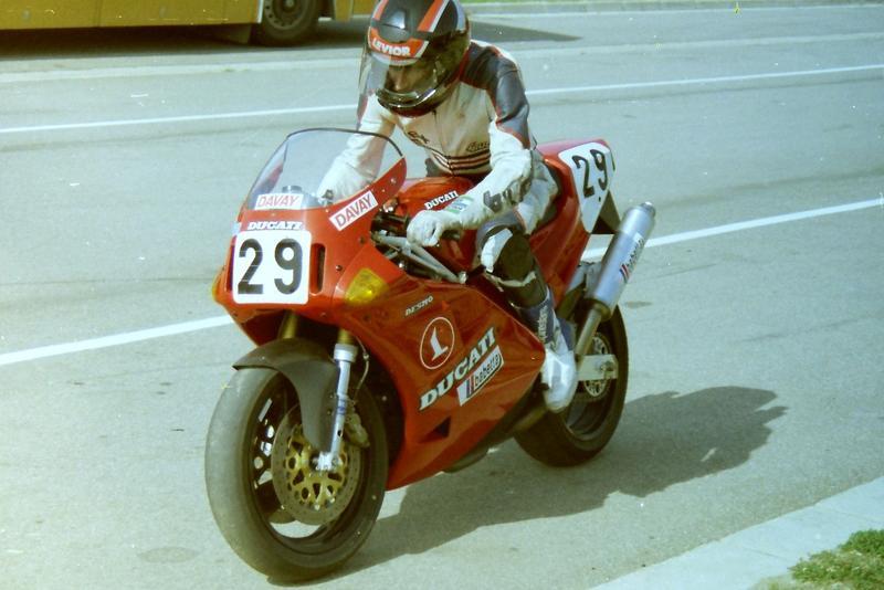 Na Ducati u nás prvý raz štartoval Miro Kacko