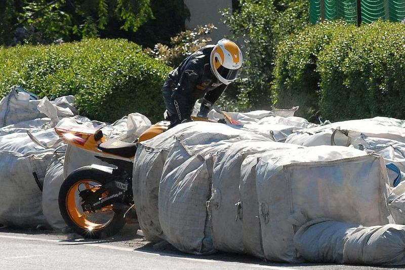 Hořické motocyklové hrátky Pod Borkem od Luboše Novosáda