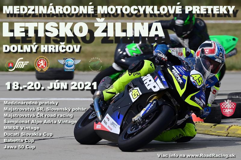 Na letisko v Dolnom Hričove sa vracajú motocyklové preteky