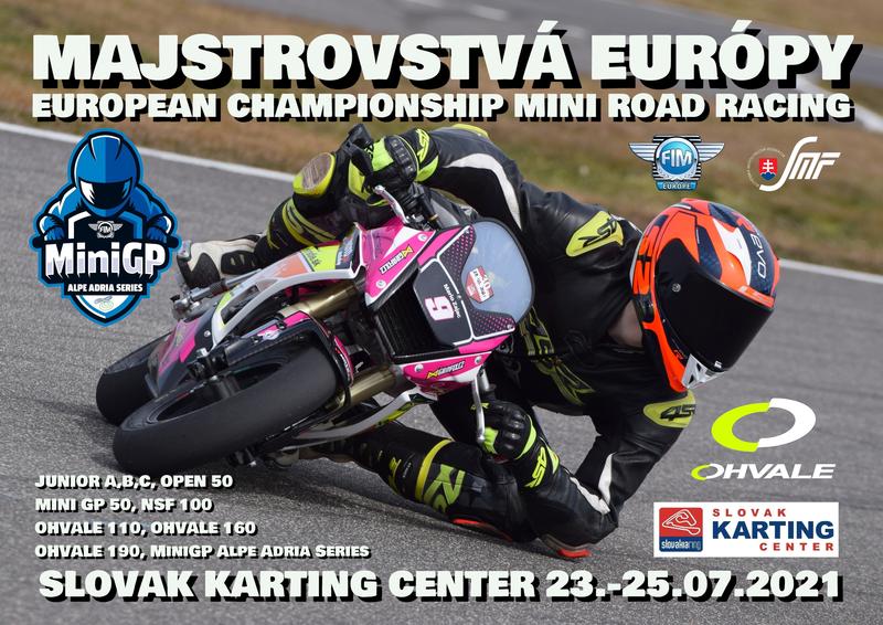 Prihláška a informácie k podujatiu ME Mini Racing na Slovakia Ringu