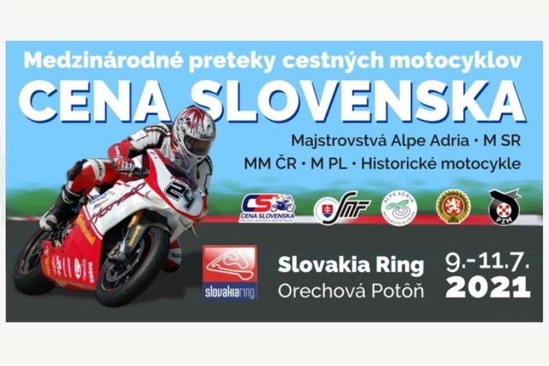 Aktuálne informácie k víkendovej Cene Slovenska