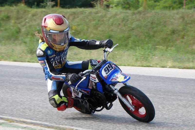 Macerano Racing Team na pretekoch Central European Minibike Cup v Kakucsi