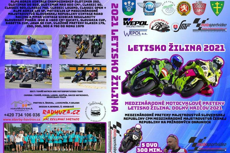 5DVD / Flash disk ŽILINA 2021 od Motosportvidea