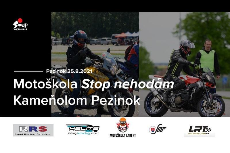 """Motokurz """"STOP NEHODÁM"""" s Lakim Slobodom"""