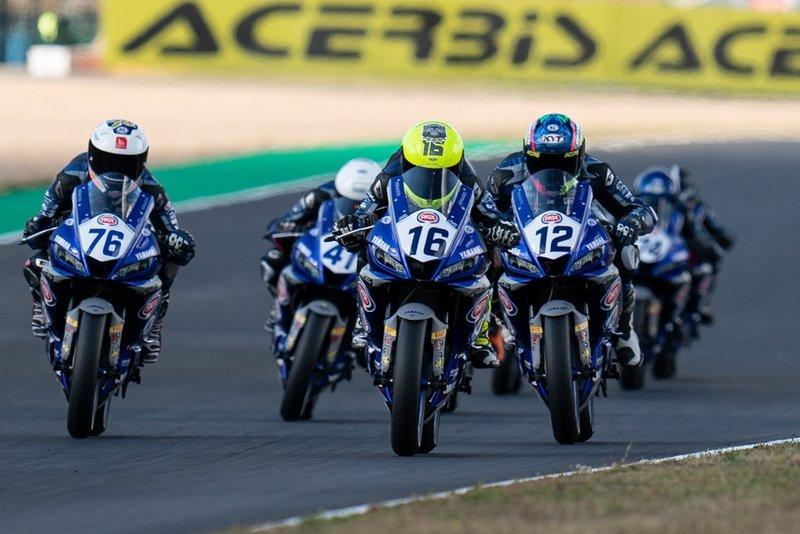 Videoreportáž z pretekov Yamaha R3 bLU cRU European Cup v Magny Cours
