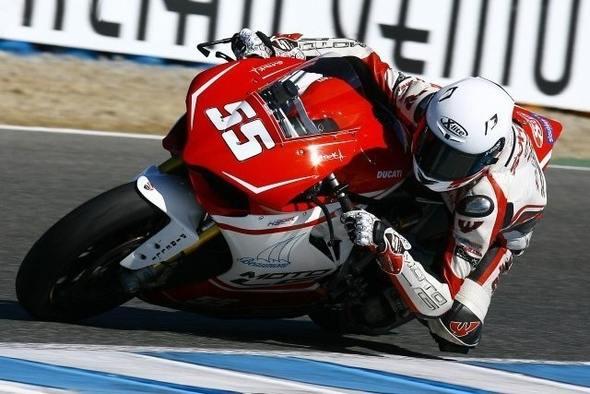 Tomáš Svitok a Moto LG Racing Team v Jereze