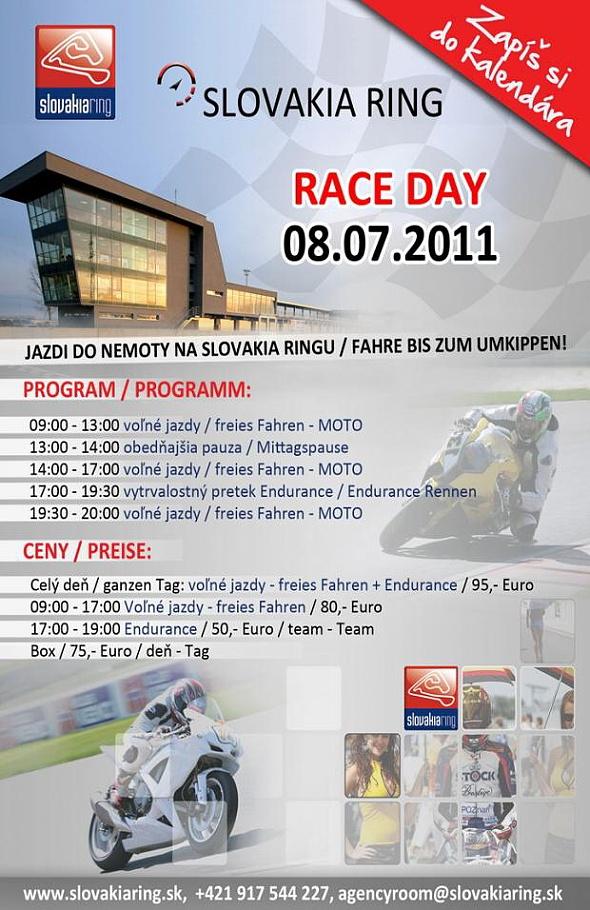Slovakia Ring RACE DAY