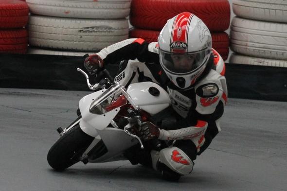 Miško Búlik – na motorke od štyroch rokov