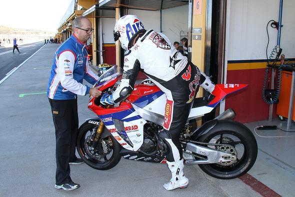 Černý testoval vo Valencii Moto2
