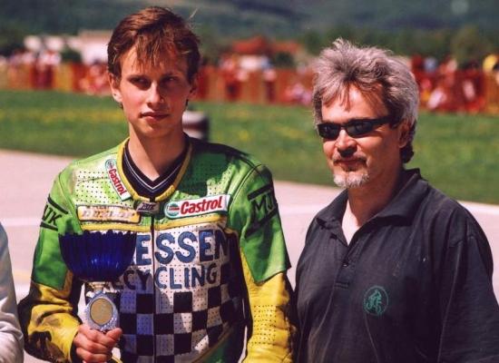 So synom Michalom v Trenčíne v roku 2003